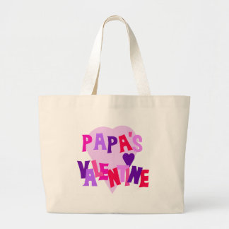 Hot Colors Heart Papa's Valentine Bags
