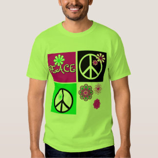 Hot Colors Peace T-shirts and Gifts