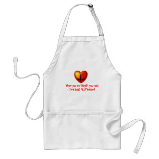 Hot cookin' WIRED chef Adult Apron