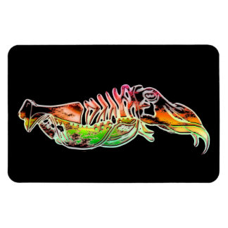 Hot Corroded Cuttlefish Flexi Magnet Rectangular Photo Magnet