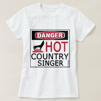 Hot Country Singer Tee Shirt