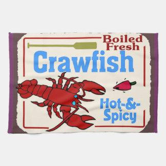 Hot Crawfish Kitchen Towel
