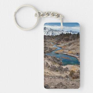 Hot Creek Gulch Keychain