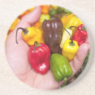 Hot crops coaster