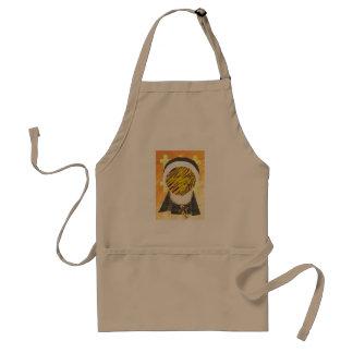 Hot Cross Bun Nun Apron
