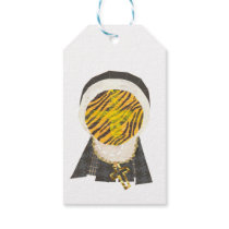 Hot Cross Bun Nun Gift Tags