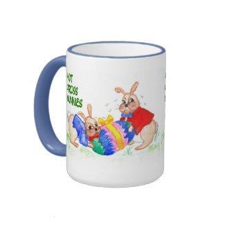 'Hot Cross Bunnies' Coffee Mug mug