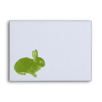Hot Cross Bunny for Easter Envelopes