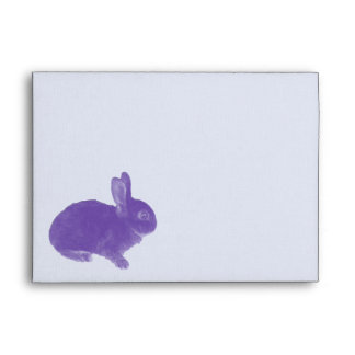 Hot Cross Bunny for Easter Envelope