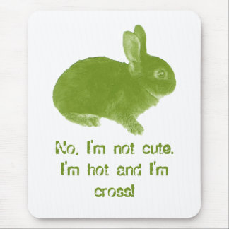 Hot Cross Bunny for Easter Mouse Pad