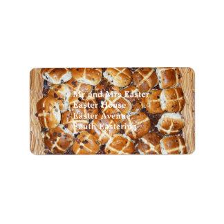 Hot Cross Buns Easter Basket #1 Label