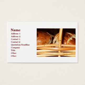 Hot Cross Buns Easter Basket #2 Business Card