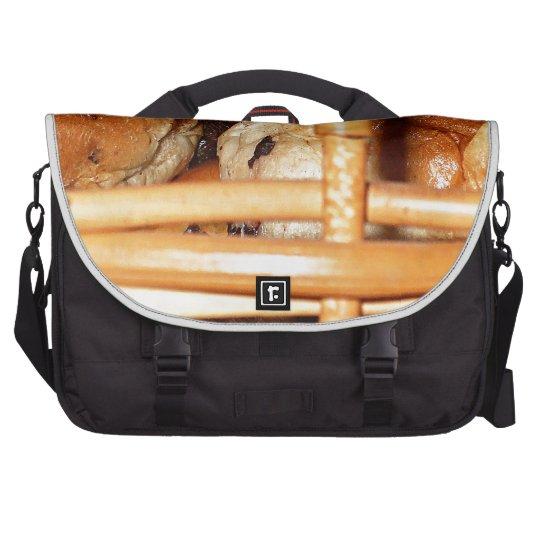 Hot Cross Buns Easter Basket #2 Laptop Messenger Bag