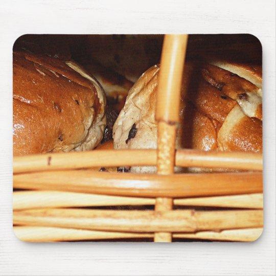 Hot Cross Buns Easter Basket #2 Mouse Pad