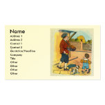 Hot-cross Buns!  Hot-cross Buns! Double-Sided Standard Business Cards (Pack Of 100)