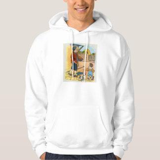 Hot-cross Buns!  Hot-cross Buns! Hooded Sweatshirts