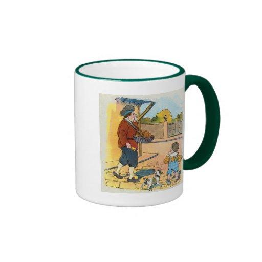 Hot-cross Buns!  Hot-cross Buns! Ringer Coffee Mug