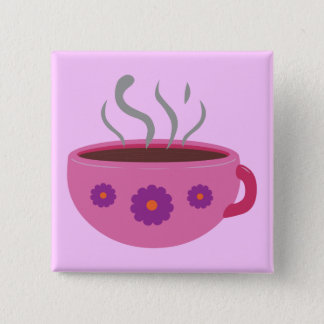Hot Cup of Coffee Button