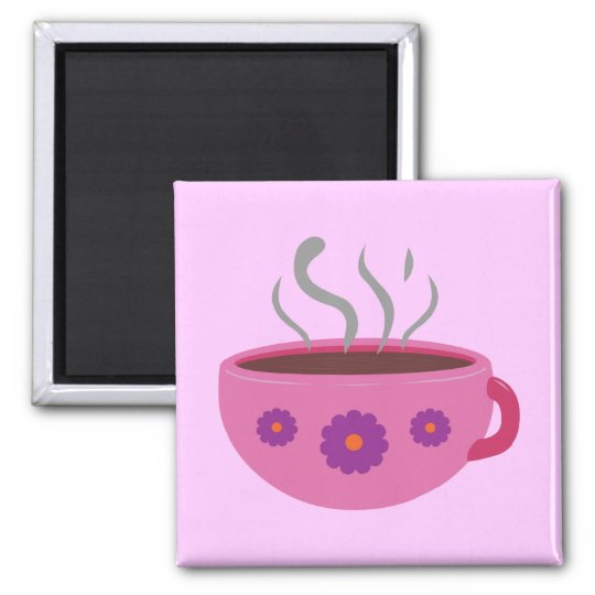 Hot Cup of Coffee Magnet