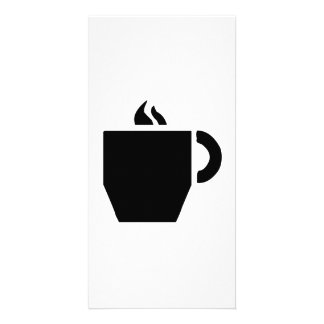 Hot Cup of Coffee Photo Card