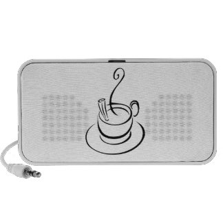 Hot Cup of Coffee Mp3 Speaker
