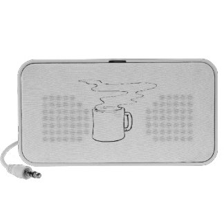Hot Cup of Coffee iPhone Speakers