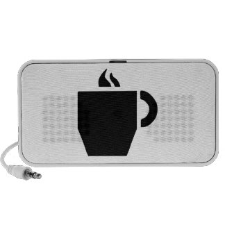 Hot Cup of Coffee Mini Speakers