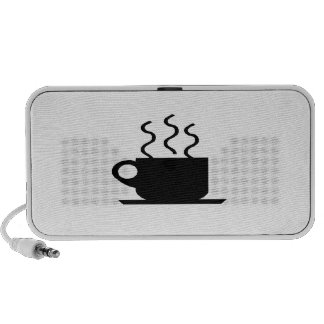Hot Cup of Coffee iPod Speakers