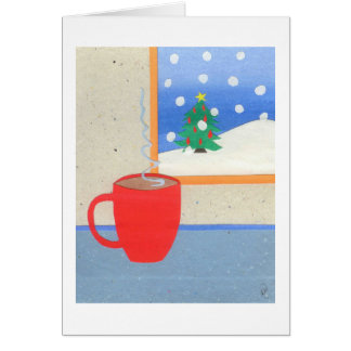 Hot Cup of Tea Greeting Card