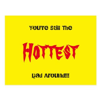 Hot Dad Postcard