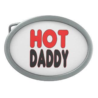 Hot Daddy Funny  Logo Holiday Gift Idea Belt Buckle