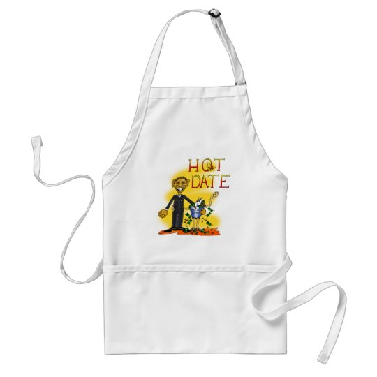 Hot Date Adult Apron