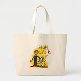 Hot Date Canvas Bags