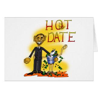 Hot Date Card