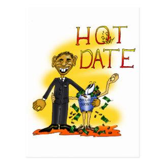 Hot Date Postcard