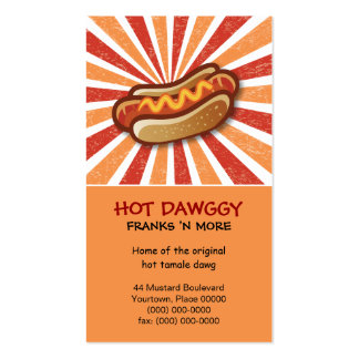 Hot Dawg Business Cards