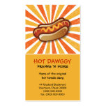 Hot Dawg Business Card