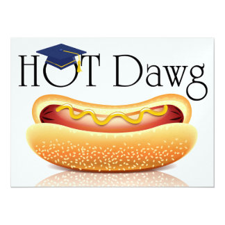 Hot Dawg! Invitation
