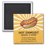 Hot Dawg Promotional Magnet