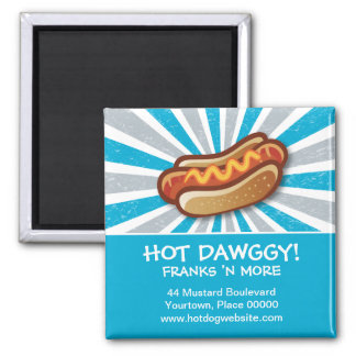Hot Dawg Promotional Magnet