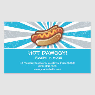 Hot Dawg Sticker