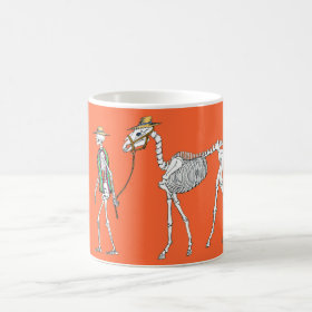 Hot Day of the Dead Coffee Mug