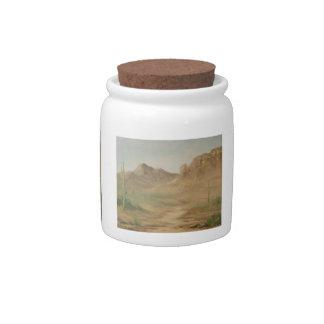 Hot Desert Candy Jar