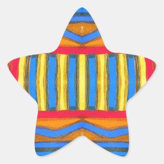 Hot Desert Star Stickers