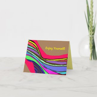 Hot Design Note and Greeting Card