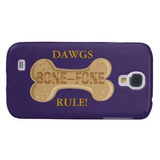 Hot Diggity ™_Dawgs Rule _Bone-Fone Samsung Galaxy S4 Covers