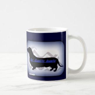 Hot diggity doggie mug