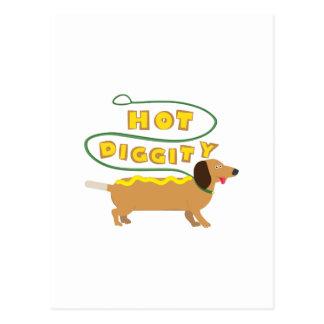 Hot Diggity Postcard