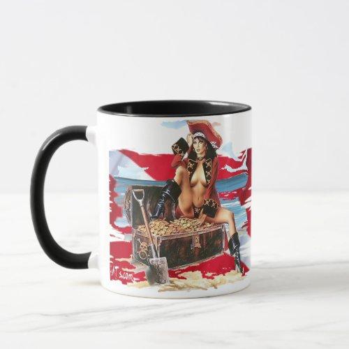 Hot Dive Babes in Bikinis Mug