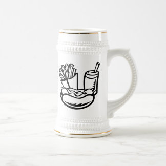 Hot Dog and Fries Beer Stein